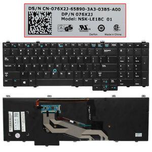 Pour-Dell-Latitude-E5540-Clavier-avec-retroeclairage-76X2J-076X2J