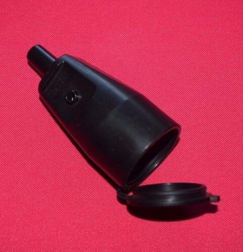 Kaiser Gummikupplung Schukokupplung  mit Deckel IP44 250V 16A NEU JU