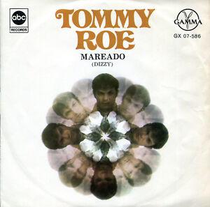 Tommy-Roe-7-034-Mareado-Dizzy-original-Mexico-EP-Gamma-ABC-1969