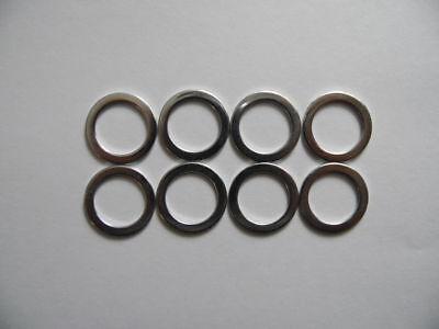 "Bike Hub 3//8 /"" or 10mm Axle Spacer 10pcs"