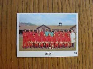19701971 The Sun Football Swap Card 036  Leyton Orient  Team Group Image bl - <span itemprop=availableAtOrFrom>Birmingham, United Kingdom</span> - Returns accepted within 30 days after the item is delivered, if goods not as described. Buyer assumes responibilty for return proof of postage and costs. Most purchases from business s - Birmingham, United Kingdom