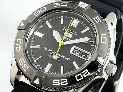 SEIKO 5 SNZB23J2 SNZB23 Automatic Rubber Japan Made Free Ship