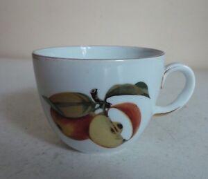 Image is loading Vintage-Old-Royal-Worcester-Porcelain-Evesham-Gold-Coffee- & Vintage Old Royal Worcester Porcelain Evesham Gold Coffee Cup ...
