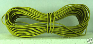 Model Railway/Railro<wbr/>ad Layout/Point Motor Wire 1 x 15m Roll 7/0.2mm 1.4A Yellow
