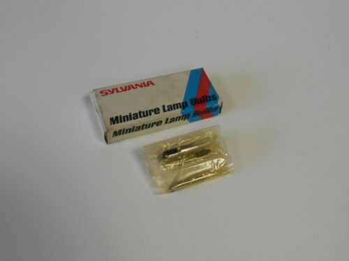 Warranty 55C3 55C 10-New Sylvania Miniature Lamp Bulbs