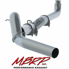 MBRP 5 Inch Exhaust Down Pipe Back 01-07 Chevy GMC Duramax 6.6L No Muffler