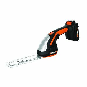WORX-WG801-20V-Lithium-Powershare-Cordless-4-034-Shear-8-034-Shrubber-Trimmer