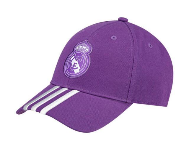 82ca702b72803 adidas Hat Unisex Purple Real Madrid a 3s Fashion Sporty Training Cap 2016