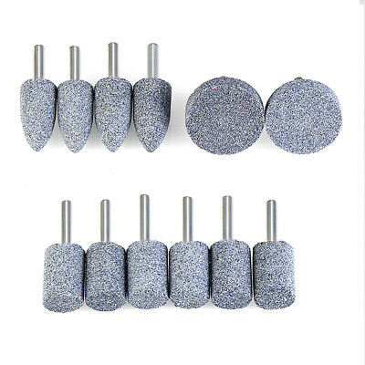 16 20 25 30 40mm Mounted Grinding Stones Wheel Bit 6mm Shank For Rotary Drill