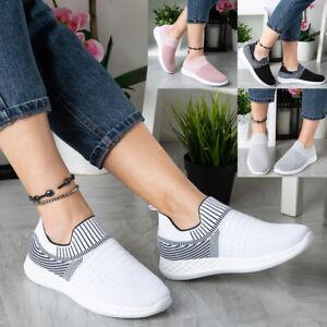 Womens Ladies Sock Trainers Sneakers