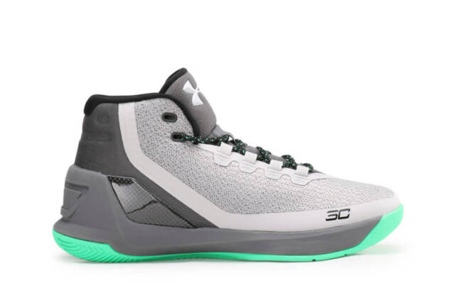online store d9ebb a4ef3 New With Box Under Armour UA Curry 3 Men's Basketball Shoes-1269279-Rhino  Gray
