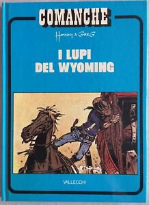 COMANCHE-n-3-I-lupi-del-Wyoming-VALLECCHI-EDITORE-HERMANN-amp-GREG-DOT