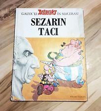 Asterix and the Laurel Wreath Les Lauriers de César Turkish Comics Kervan 1970's