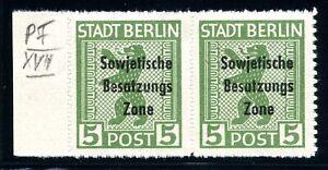 SBZ-allgemeine-Ausgaben-MiNr-200-B-PF-XVII-postfrisch-MNH-geprueft-Q10105