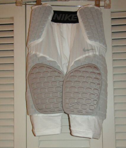 Nike Adult Pro Combat Hyperstrong Football Shorts 533045 White $80 NWT S /& XL