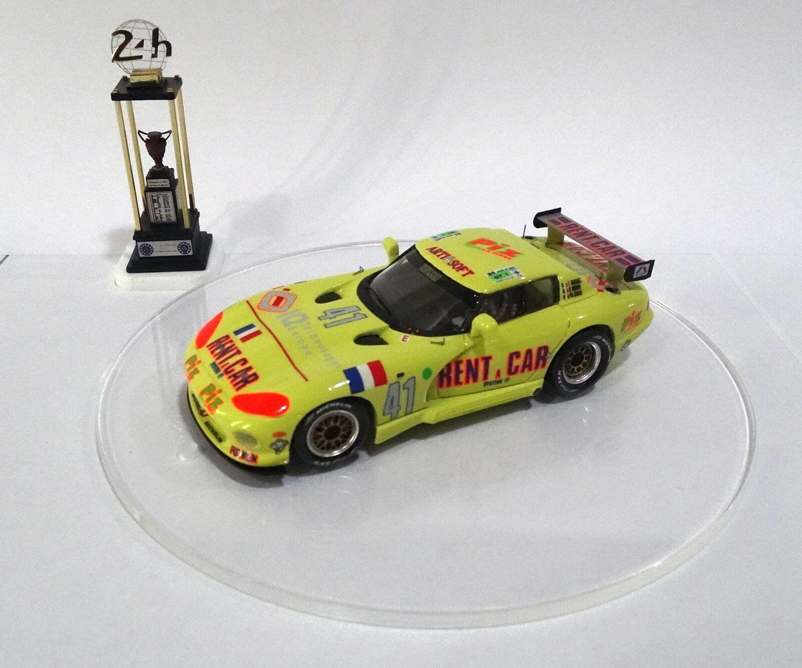 Dodge Viper HT Le Mans 1994 Built Balloon Kit 1 43 No Spark Minichamps top