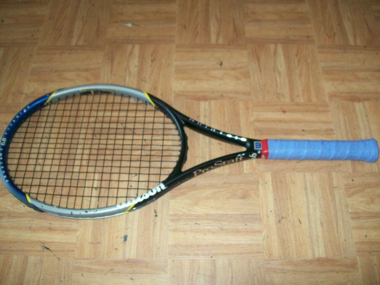 Wilson Pro Staff 6.6 Titanium 95 4 1 4 Tennis Racquet