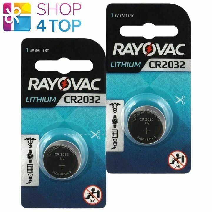 2 rayovac cr2032 lithium 3v Batteries Coin Cell Button Exp 2026 new indonesia
