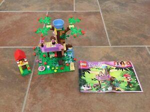 Lego Friends Casa Del árbol De Olivia Set 99 Completo Con Instrucciones Sin Caja Ebay