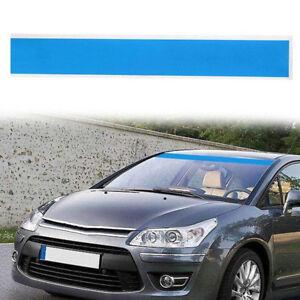 Blau-15x152cm-Sonnenschutz-Auto-Windschutzscheibe-Aufkleber-Streifen-Sticker-1x