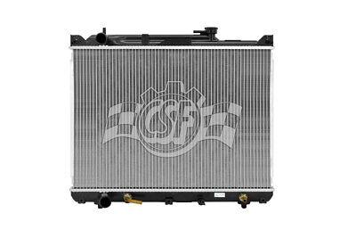 Radiator-1 Row Plastic Tank Aluminum Core CSF 3693