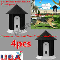 4xpuppy Dog Outdoor Ultrasonic Anti Barking Control Birdhouse Nuisance Stop Bark