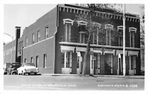RPPC-Court-House-Weaverville-CA-Trinity-County-c1950s-Eastman-Vintage-Postcard