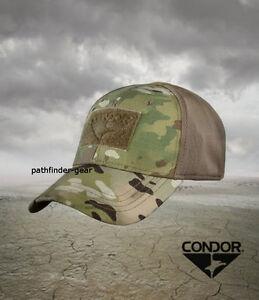 aae407e5808 Image is loading Condor-Multicam-Flexfit-Flex-Tactical-Operator-cap-hat-