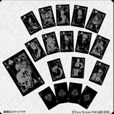 Black Butler Funtom Playing Cards Kuroshitsuji 10th Anniversary SquareEnix Japan