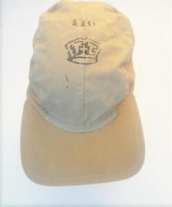 ralph lauren polo youths military style cap beige hat new age 6 to ... be636452387