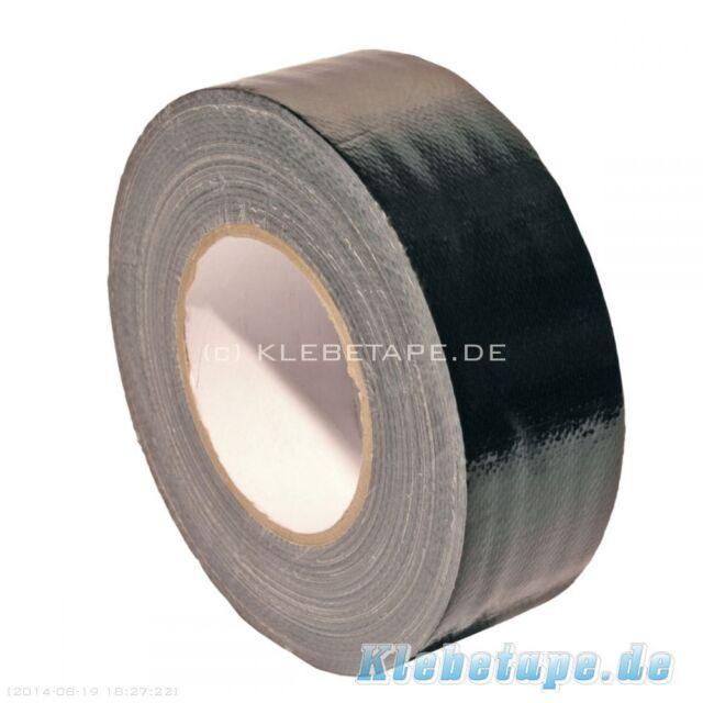 Gaffer Tape 690 Gewebeband 50m x 50mm schwarz 300μm Panzerband UV beständig