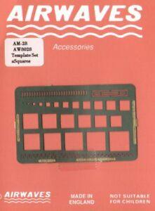 Airwaves Square, Charnière Et Scribing Template # Aem028-afficher Le Titre D'origine