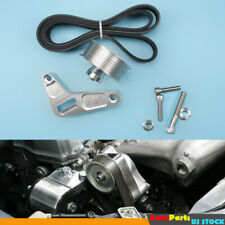 Tuned Adjustable Ep3 Pulley Kit With Belt Kit Fit For Most K20 K24 Engines
