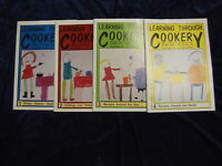 4 LEARNING THROUGH COOKERY BOOKS ** UK POST £3.25 ** P/B
