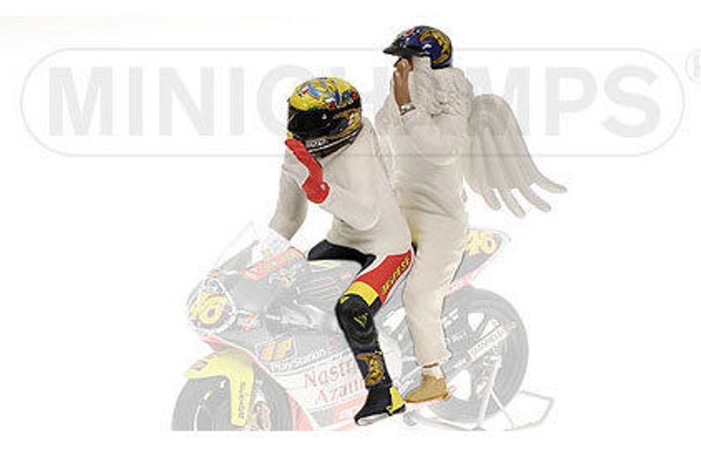 Minichamps 312 990096 Rossi & Angel necesidades cifras gp250 Rio 1999 1 12 Th Scale