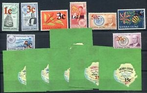 BRITISH-SIERRA-LEONE-Yvert-372-85-Complete-Set-MNH-VF