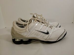 Nike-Shox-Women-039-s-Athletic-Running-Shoes-Size-10-White