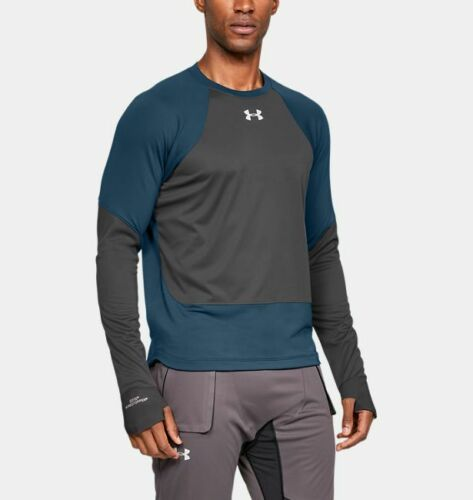 Under Armour Men/'s ColdGear® Reactor WINDSTOPPER Long Sleeve Top 1317996 Size M