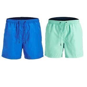 Jack-amp-Jones-Mens-Classic-Swim-Shorts-Regular-Quick-Dry-Summer-Beach-Swimwear