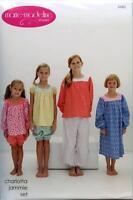 Charlotta Jammie Set Girls Clothing Pattern Marie-madeline Studio