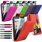 Top Flip Quality PU Leather Phone Case Skin Cover✔Film LCD Screen Protector