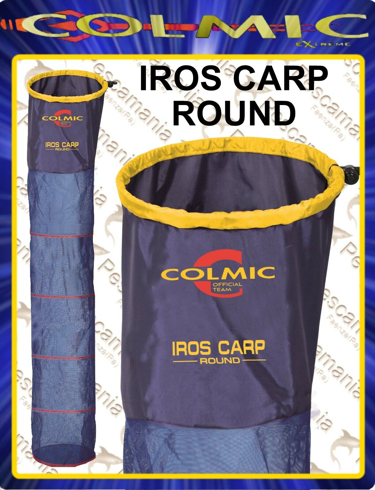 Nassa Colmic IROS CARP Round mt.2,503,003,504,00