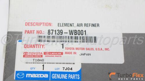 Toyota Yaris iA Scion iA AC Cabin Filter Genuine OEM 87139-WB001
