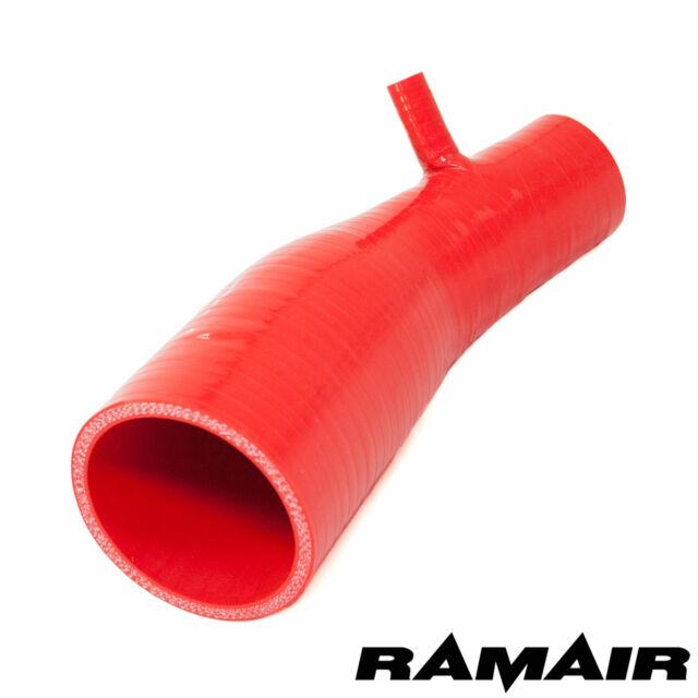 Rojo ramair Silicona Inducción Tubo de Entrada Aire Manguera 2013< Clio 4 200 Rs