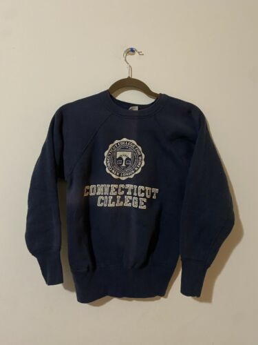 Vtg 50s Champion Connecticut College For Women Sw… - image 1