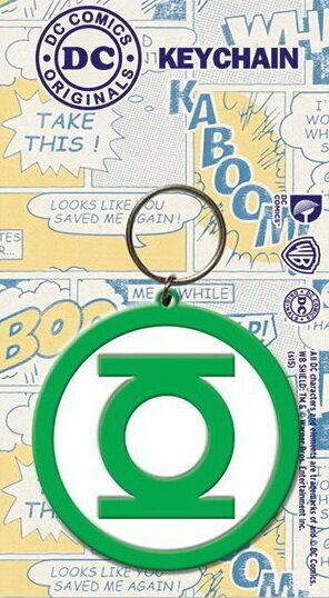 Green Lantern - DC Comics - Gummi Schlüsselanhänger / rubber keychain