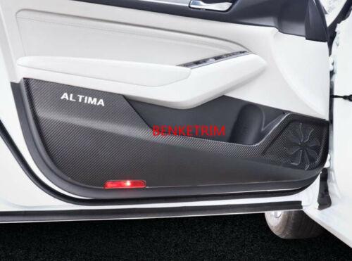 FOR Nissan Altima 2019 2020 Car Doors To Prevent Kick Board Sticker Trim 4pcs
