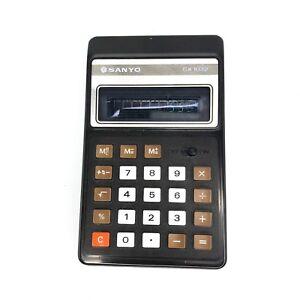 Vintage-1980-Sanyo-CX-1032-CX-1032-Pocket-Calculator-Made-in-Japan