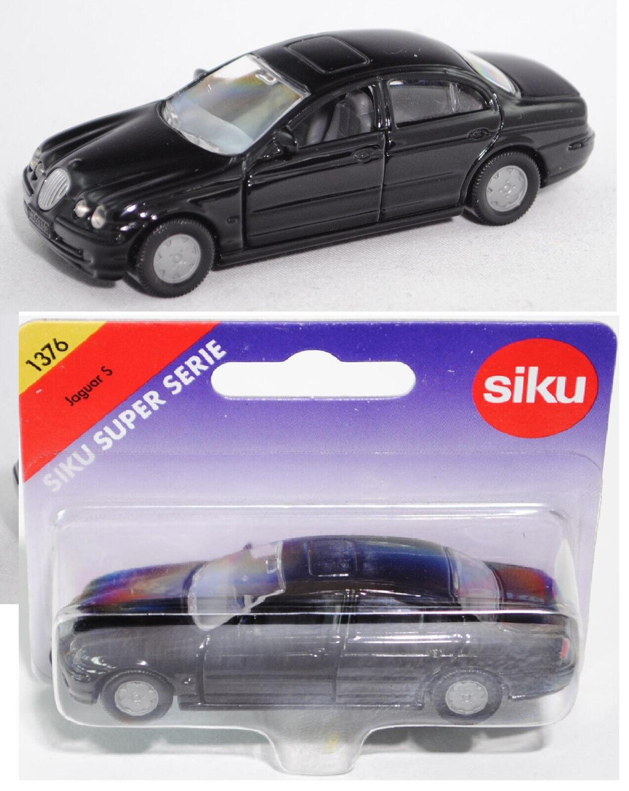 SIKU SUPER 1376 00402 JAGUAR  S 4.0 v8, noir, modèle spécial  grosses soldes