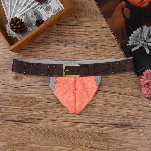 Men/'s T-back Thong G-string Bikini Underpants Jockstrap Backless Pouch Underwear
